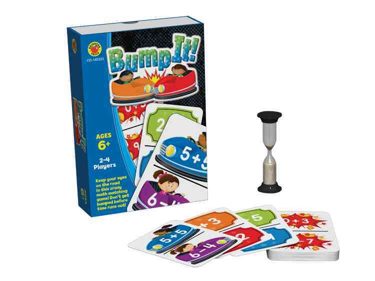 Bump It! Card Game, Grades 1 - 3 By Carson-Dellosa Publishing Company, Inc. (COR)